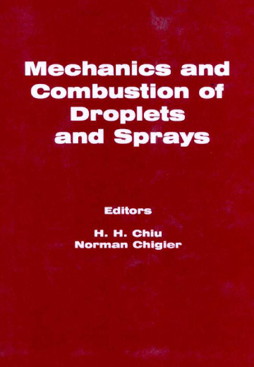 Mechanics and Combustion of Droplets and Sprays