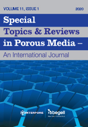 Special Topics & Reviews in Porous Media: An International Journal