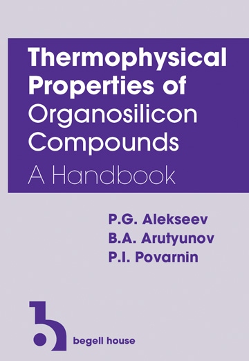 Thermophysical Properties of Organosilicon Compounds