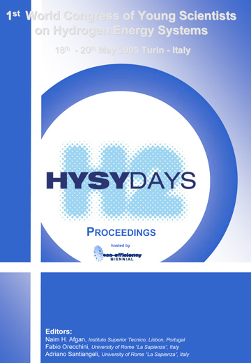 HYSYDAYS<br>1st World Congress of Young Scientists on Hydrogen Energy Systems