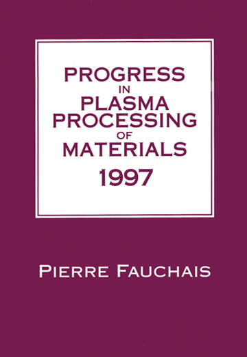 Progress in Plasma Processing of Materials 1997