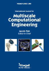 International Journal for Multiscale Computational Engineering