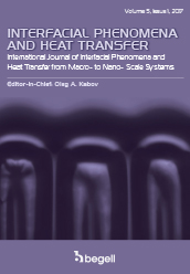 Interfacial Phenomena and Heat Transfer