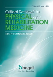Critical Reviews™ in Physical and Rehabilitation Medicine